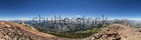 Mount Humphreys panorama Stock photo © pancaketom