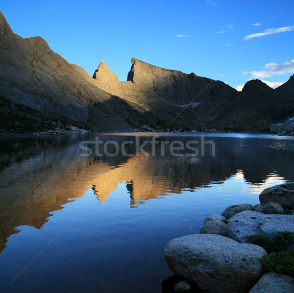 Deep Lake reflection Stock photo © pancaketom