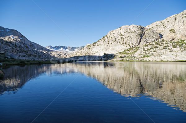 Evrim göl kanyon Stok fotoğraf © pancaketom