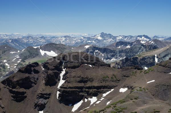 Sierra Nevada Mountain Landscape Stock photo © pancaketom