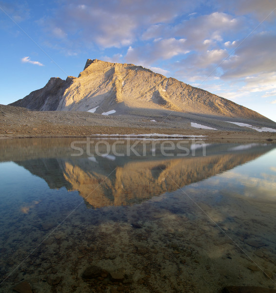 Mount Tyndall Reflection Stock photo © pancaketom