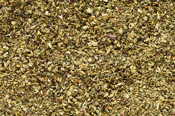Gedroogd basilicum macro afbeelding kruid Stockfoto © pancaketom