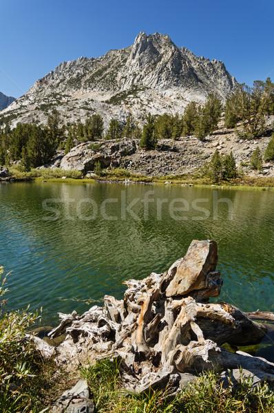 Hurd Peak And Long Lake Stock photo © pancaketom