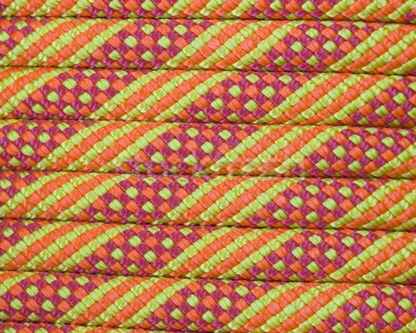 climbing rope macro Stock photo © pancaketom