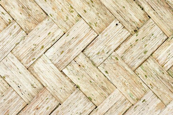 öreg bambusz viharvert Stock fotó © pancaketom