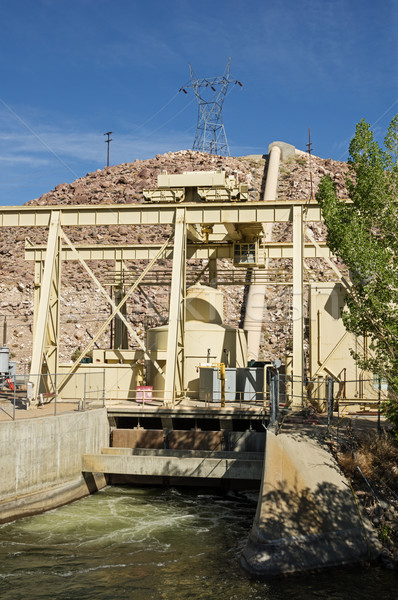 Hydroelectric Power Plant Stock photo © pancaketom