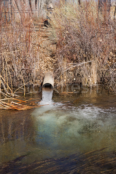 谷 北 フォーク 水 パイプ も ストックフォト © pancaketom