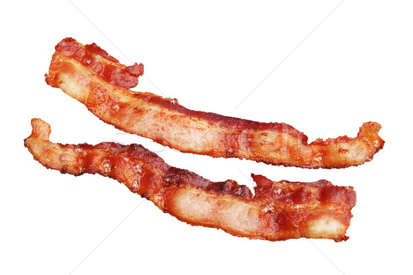 isolated bacon Stock photo © pancaketom