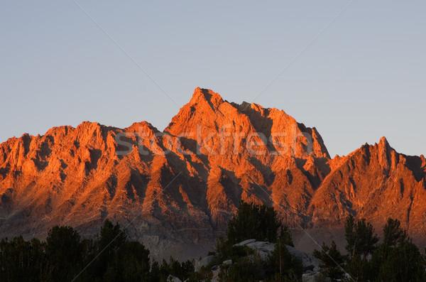 Mount Humphreys Sunset Stock photo © pancaketom