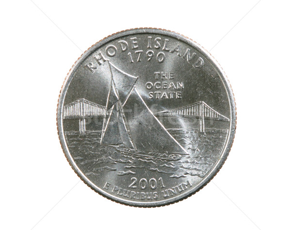 Rhode Island Quarter Stock photo © pancaketom