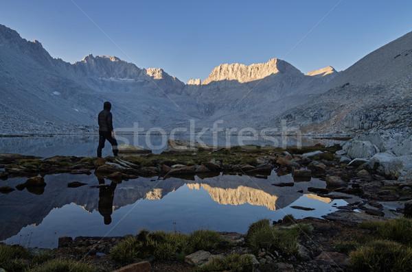 Mountain Morning View Stock photo © pancaketom