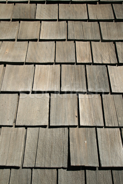old wood roof Stock photo © pancaketom
