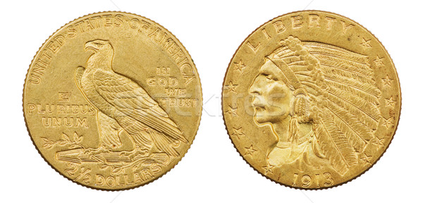 Gold Eagle Coin Stock photo © pancaketom
