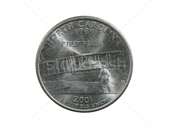 isolated North Carolina quarter Stock photo © pancaketom