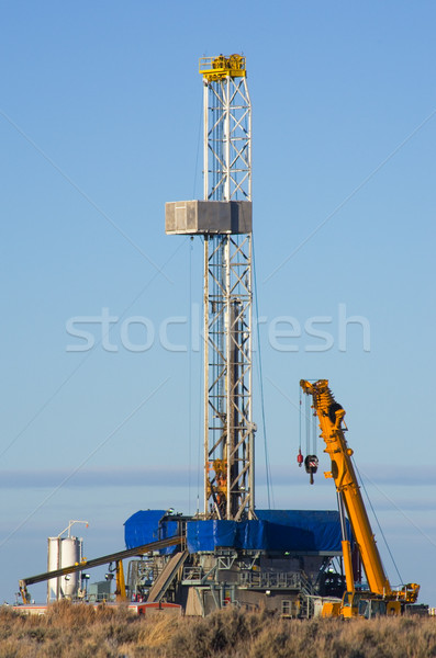 drill rig Stock photo © pancaketom