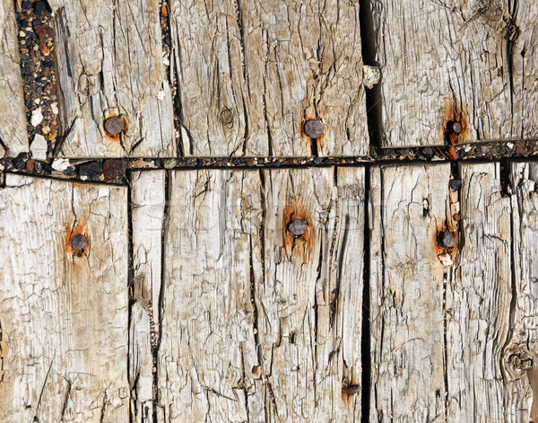 Old Floor Boards Stock photo © pancaketom
