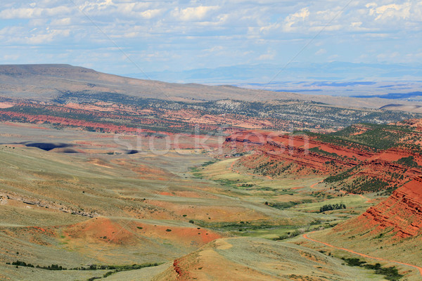 Red Canyon Stock photo © pancaketom