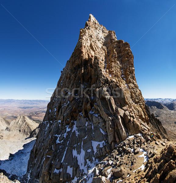 Mount Humphreys Summit Stock photo © pancaketom