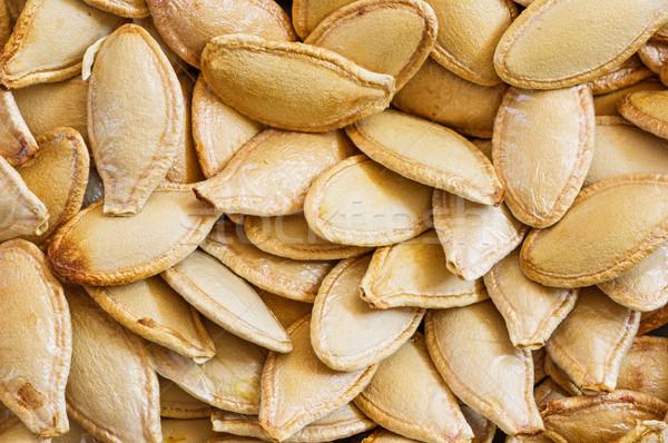тыква семян макроса изображение фон крупным планом Сток-фото © pancaketom