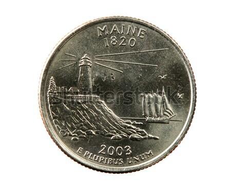 isolated South Dakota quarter Stock photo © pancaketom
