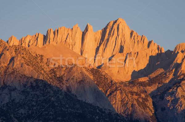 Mount Whitney Sunrise Stock photo © pancaketom