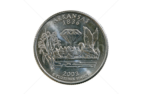 Arkansas State Quarter Stock photo © pancaketom