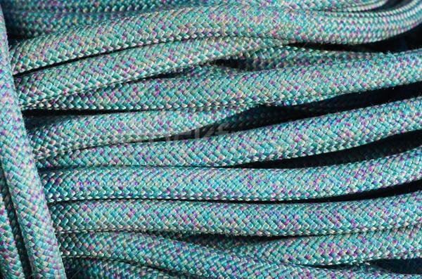 Blue Climbing Rope Stock photo © pancaketom