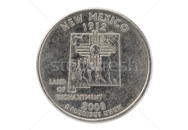 New Mexico State Quarter Coin Stock photo © pancaketom