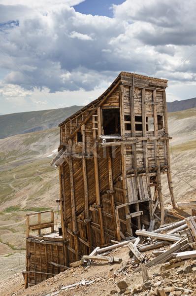 Hilltop Mine Ruins Stock photo © pancaketom