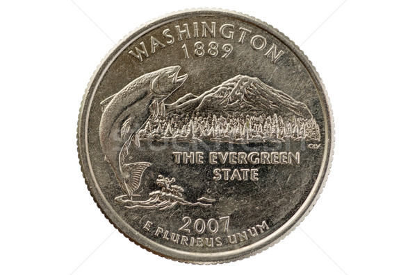 Washington State Quarter Stock photo © pancaketom