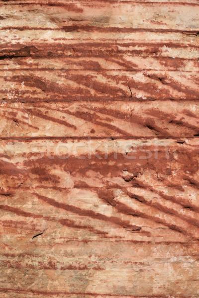 Atravessar arenito vertical imagem vermelho Foto stock © pancaketom