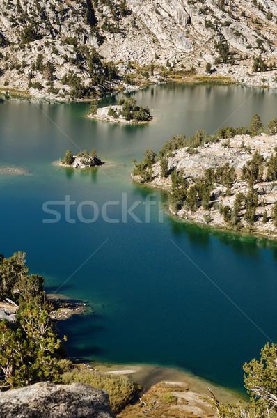 湖 峡谷 ストックフォト © pancaketom