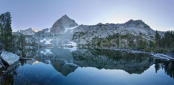 Hazine göl panorama Nevada dağ Stok fotoğraf © pancaketom