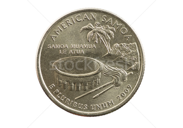 American Samoa Quarter Stock photo © pancaketom
