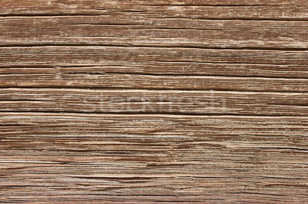 Old Weathered Wood Grain Stock photo © pancaketom