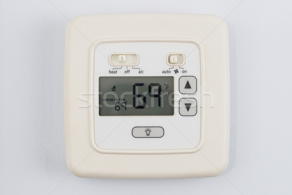 digital thermostat Stock photo © pancaketom