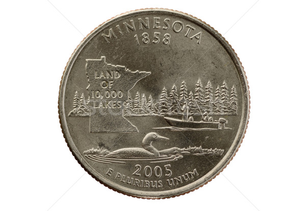 Minnesota State Quarter Stock photo © pancaketom
