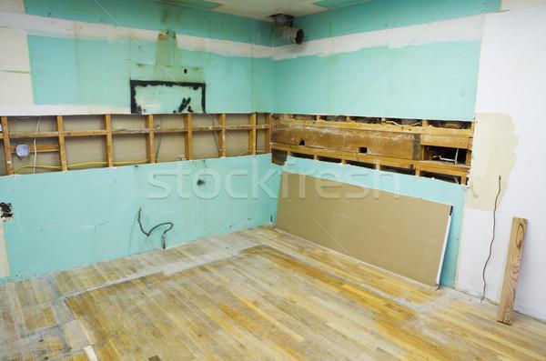 ホーム キッチン 開始 家 ストックフォト © pancaketom