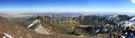 San Luis Mountain Panorama Stock photo © pancaketom