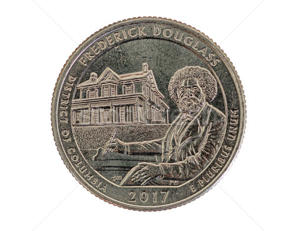 Frederick Douglass Commemorative Quarter Stock photo © pancaketom