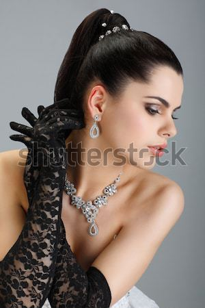 A photo of sexual beautiful girl is in fashion style Stock photo © pandorabox