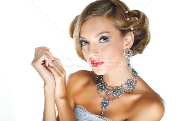 結婚式 装飾 少女 女性 ファッション 自然 ストックフォト © pandorabox
