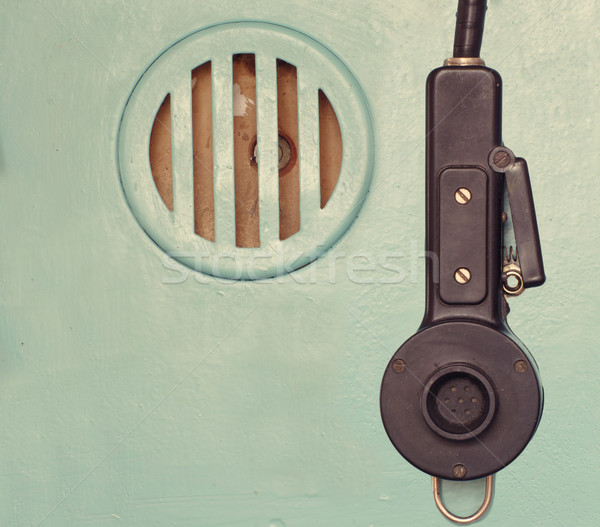 Microphone And Speaker Stock photo © papa1266