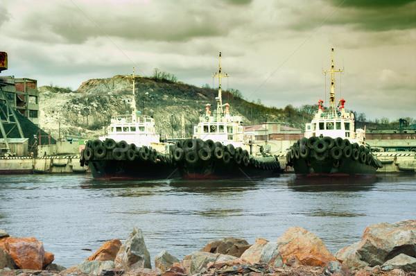 Sea tows Stock photo © papa1266