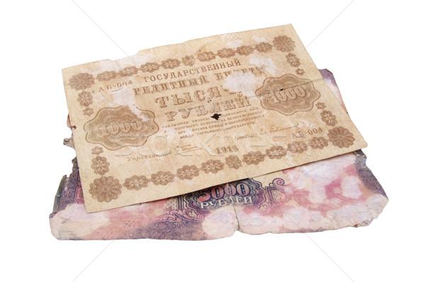 old bank notes Stock photo © papa1266