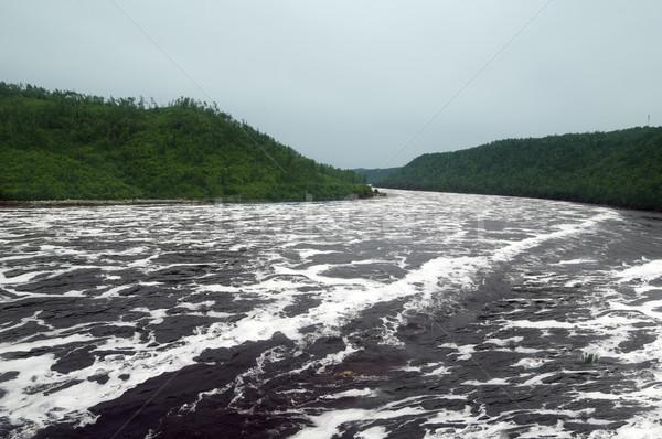 Bureya river Primorsky Krai russia Stock photo © papa1266