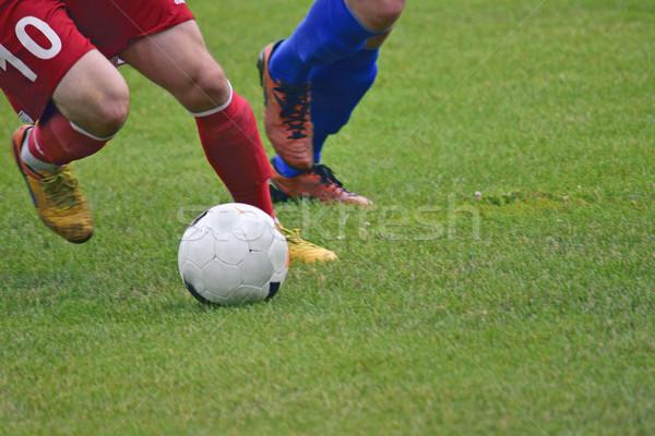 Piłkarz piłka meczu piłka nożna mężczyzn Zdjęcia stock © papa1266