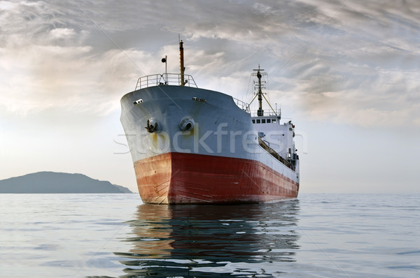 cargo ship at sea Stock photo © papa1266
