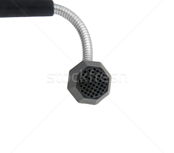 Microphone isolated on the white Stock photo © papa1266