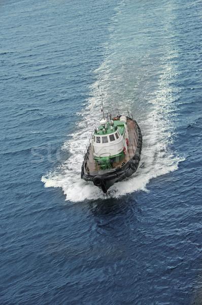 Bateau mer à grande vitesse vitesse rivière Photo stock © papa1266